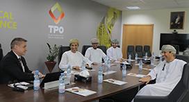 Oman Oil Company Begin Training at TPO