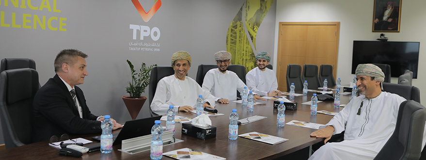 His Excellency, Salim Bin Nasser Bin Said Al-Aufi, is Given a Warm Welcome at TPO-1.jpg