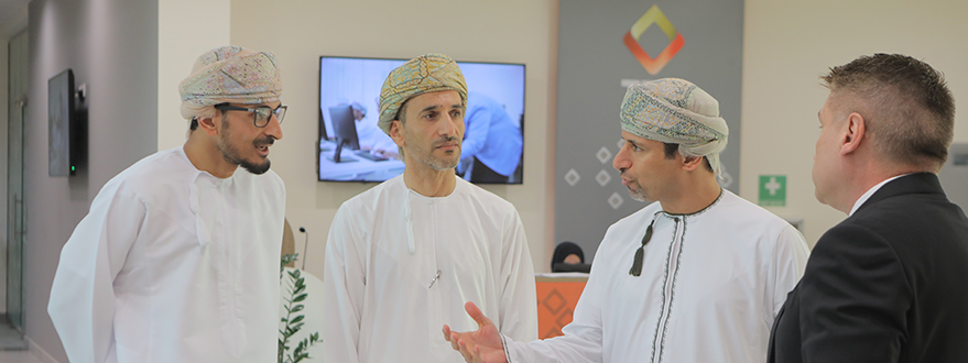His Excellency, Salim Bin Nasser Bin Said Al-Aufi, is Given a Warm Welcome at TPO-4.jpg