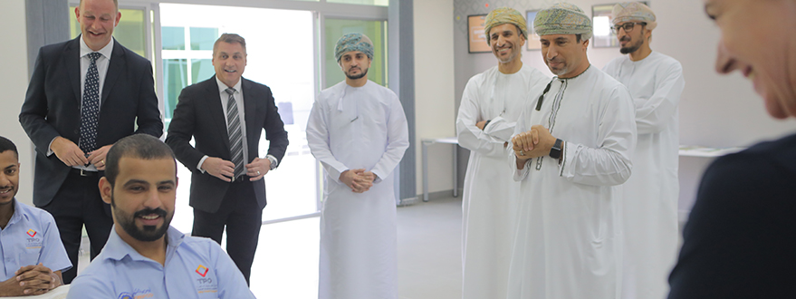 His Excellency, Salim Bin Nasser Bin Said Al-Aufi, is Given a Warm Welcome at TPO-6.jpg