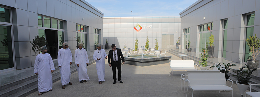 His Excellency, Salim Bin Nasser Bin Said Al-Aufi, is Given a Warm Welcome at TPO-9.jpg