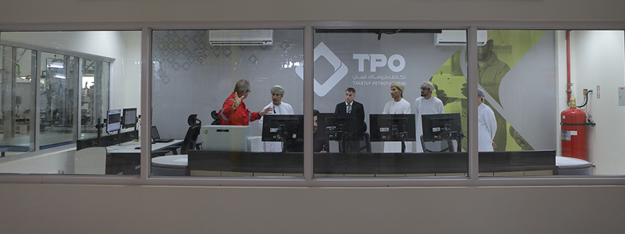 His Excellency, Salim Bin Nasser Bin Said Al-Aufi, is Given a Warm Welcome at TPO-13.jpg
